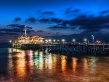 Santa Monica Pier HDR