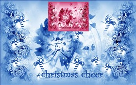 Christmas Cheer wall 2 colors