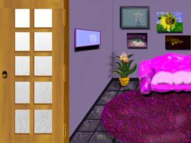 Pink Plastic Sofa