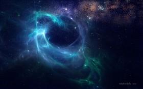 Eye of the storm nebulae