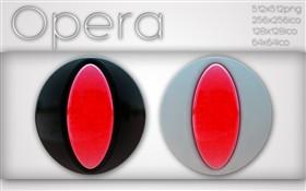 Opera in black and white