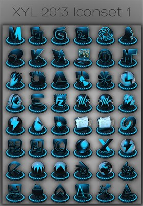 XYL 2013 iconset