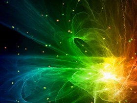 burst of colours