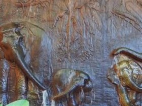 elephant carvings