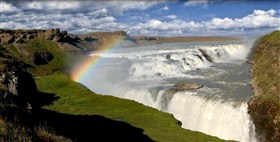 Rainbow Waterfall Selfoss