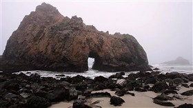 Pfeiffer Beach Rock