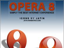 Opera 8 icons