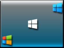 Stylish Win8 Logo