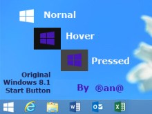 Win 8.1 Original Start Button_By Rana
