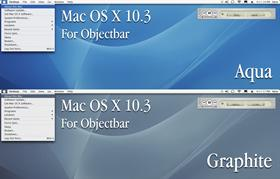 Mac OS X Panther Aqua