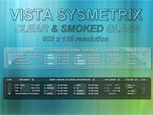 Clear and Smoked Glass Vista