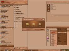 wood & copper