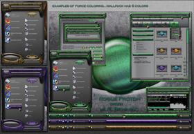Rogue Proton green