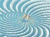Spiral Sunbathers by: I.R. Brainiac