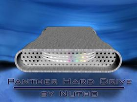Panther Hard Drive Disk by nutho V 2