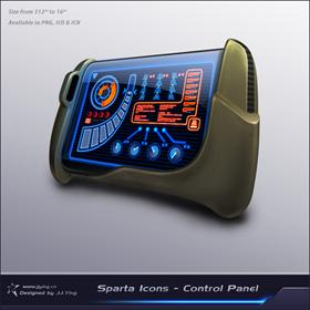 Sparta Icons - Control Panel