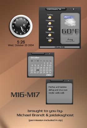 M16-M17 weather