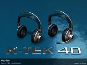 K-TEK 4D Headset