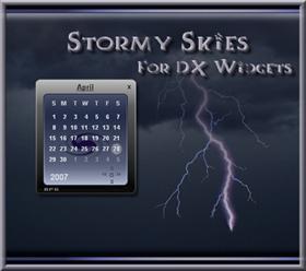 Stormy Skies Calendar