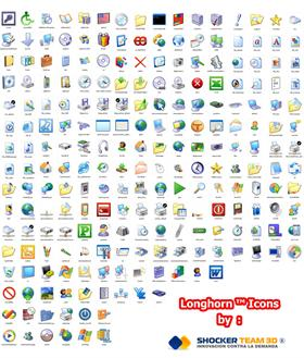 Longhorn Icons Clasic Full Package