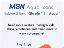 MSN Aqua Icon