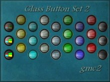 Glass Button Set 2