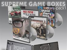 Supreme Game Boxes Pack 1