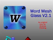 Word Mesh Panel Tint