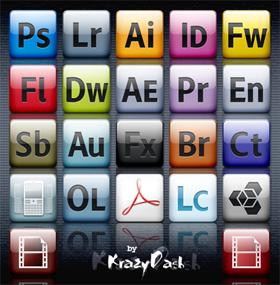 Adobe CS4 Icons