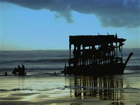After the Storm(Peter Iredale)