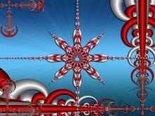 Christmas Star Flake