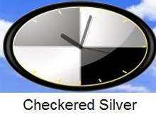 Checkered Silver