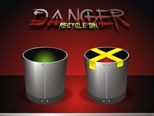 Danger Recycle Bin