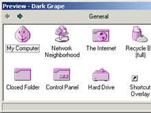 Dark Grape