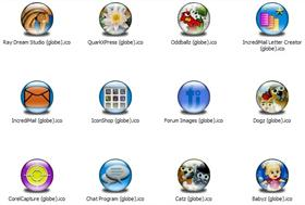 Misc Apps 4 Icons (Globe)