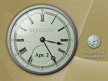 Elegant Clock Widget