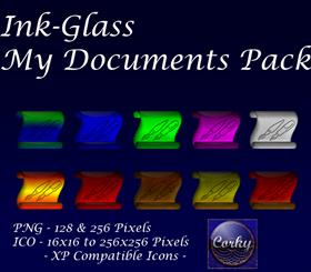 Ink-Glass My Documents Pack