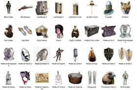 Medieval Dock Icons 4