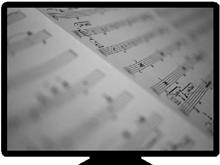 my computer-sheet music