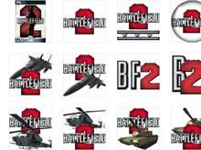 Battlefield 2 Dock Icons