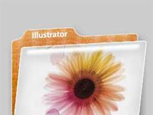 Plastic Folder: Illustrator CS2