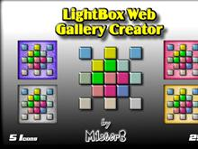 LightBox Web Gallery Creator