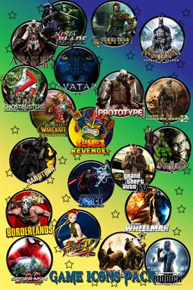 Games Icons Ultimate Pack