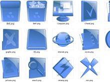 LastXP_Blue Dock Icons