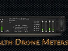 Stealth Drone DX Meters