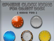 Sphere Clocks Serie Two For OD