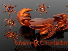 3D Christmas Screen Saver