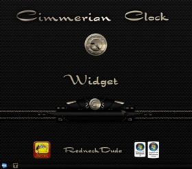 Cimmerian Clock Widget