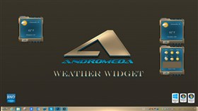 Andromeda Weather Widget 2014