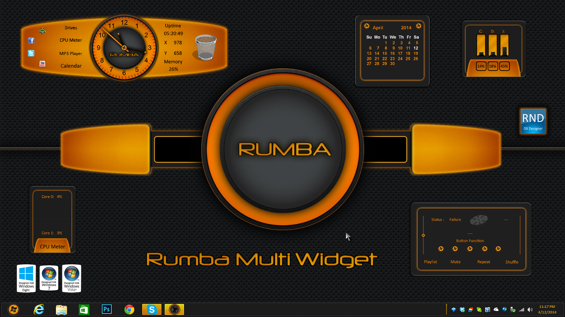 Rumba Multi Widget
